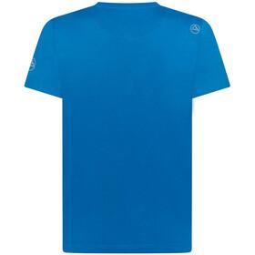 La Sportiva Breakfast T-Shirt Col Ras-Du-Cou Homme, neptune